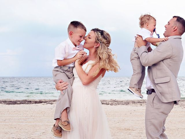 Cory and Meghan's Wedding in Cancun, Mexico 39