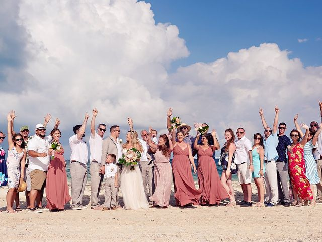 Cory and Meghan's Wedding in Cancun, Mexico 40