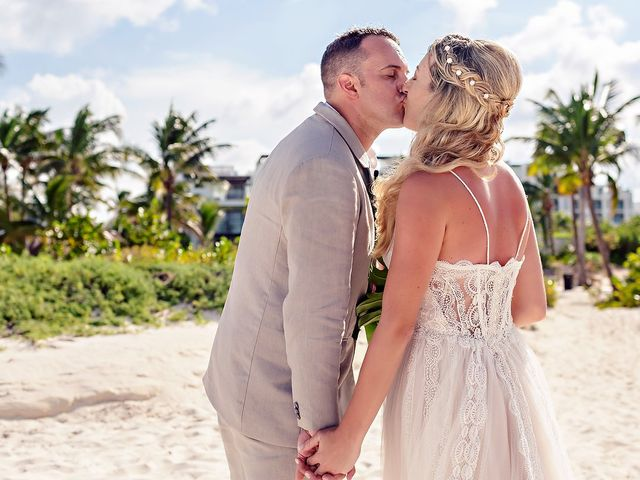 Cory and Meghan's Wedding in Cancun, Mexico 42
