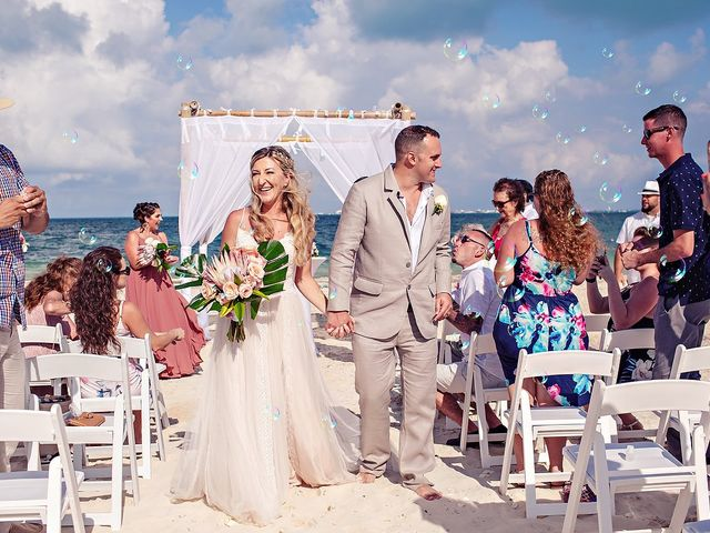 Cory and Meghan's Wedding in Cancun, Mexico 43