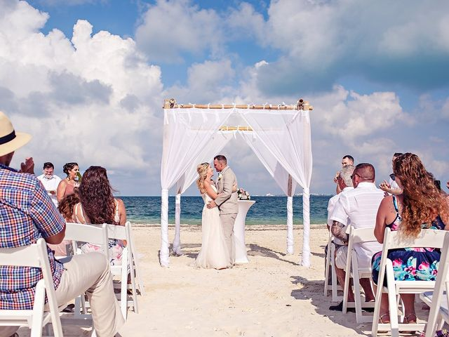 Cory and Meghan's Wedding in Cancun, Mexico 44