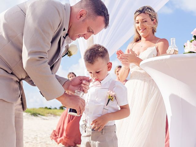 Cory and Meghan's Wedding in Cancun, Mexico 45