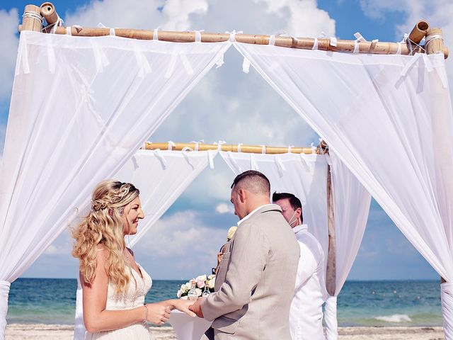 Cory and Meghan's Wedding in Cancun, Mexico 47