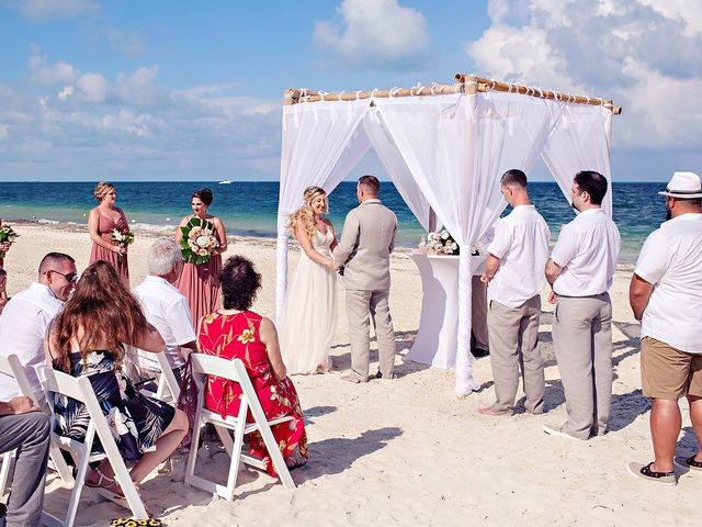 Cory and Meghan's Wedding in Cancun, Mexico 48