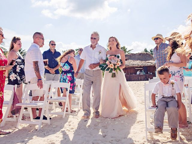 Cory and Meghan's Wedding in Cancun, Mexico 49