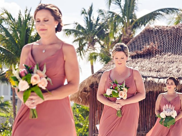 Cory and Meghan's Wedding in Cancun, Mexico 51