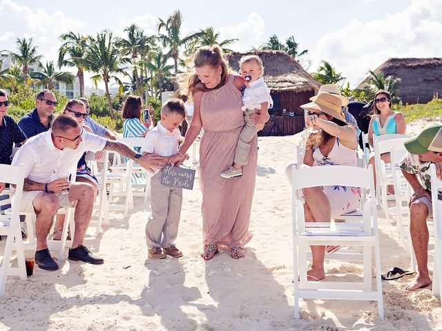 Cory and Meghan's Wedding in Cancun, Mexico 52