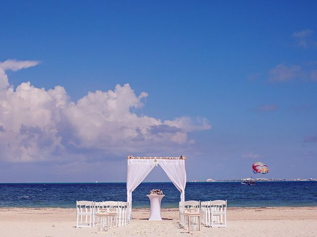 Cory and Meghan's Wedding in Cancun, Mexico 53