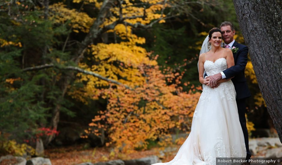 Shawn and Jennifer's Wedding in Jackson, New Hampshire