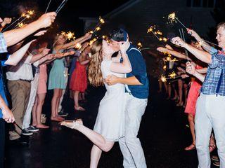 The wedding of Luke and Megan 2