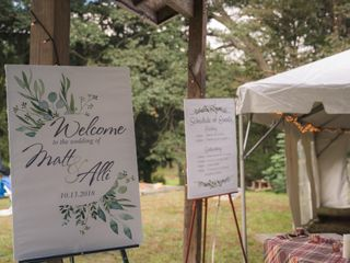 The wedding of Alli and Matt 2