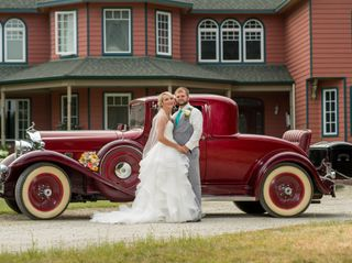 The wedding of Sabrina and Jake