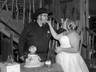 The wedding of Kristen  and Jerry 2