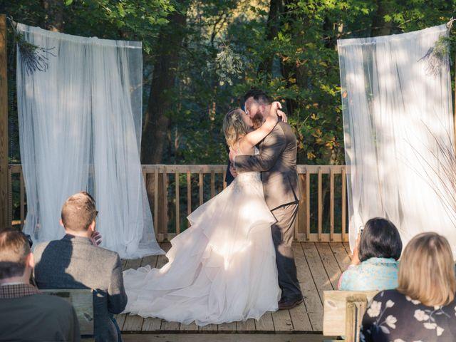 The wedding of Alli and Matt