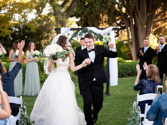 Kyle and Carolyn's Wedding in Winters, California 1