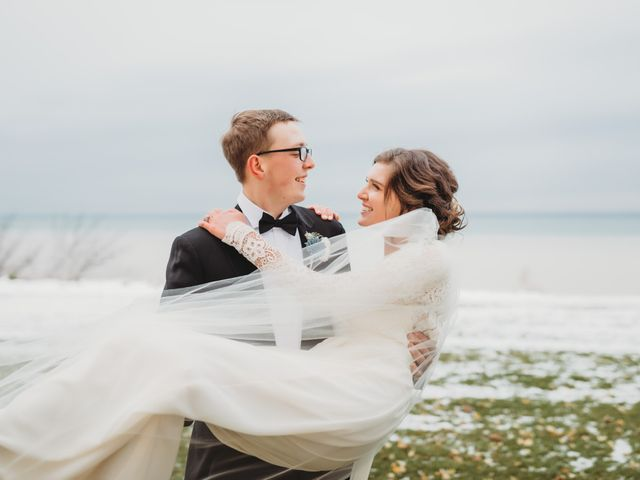 The wedding of Abigail and Matt