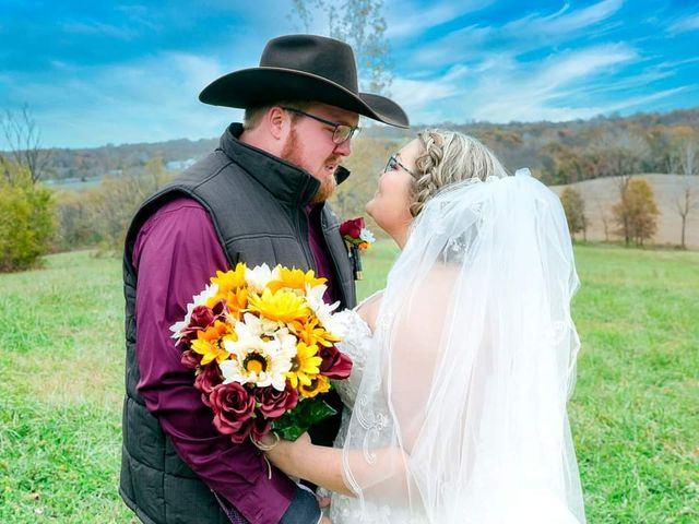 The wedding of Kristen  and Jerry