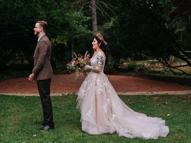 The wedding of Allison and Chris