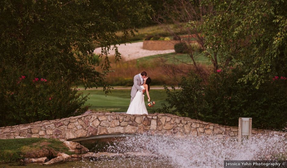 Jessica and Brett's Wedding in Camdenton, Missouri