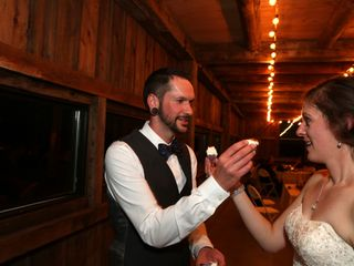 The wedding of Alissa and Steve 1