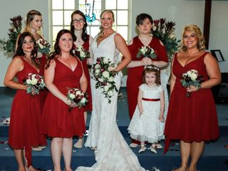 The wedding of Christy and David 1