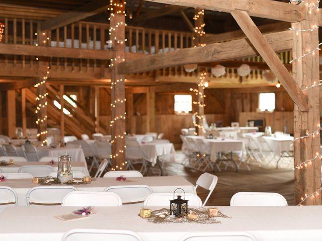 Levi and Melissa's Wedding in Veedersburg, Indiana 9