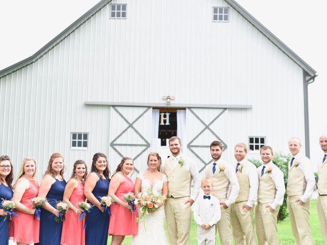 Levi and Melissa's Wedding in Veedersburg, Indiana 2