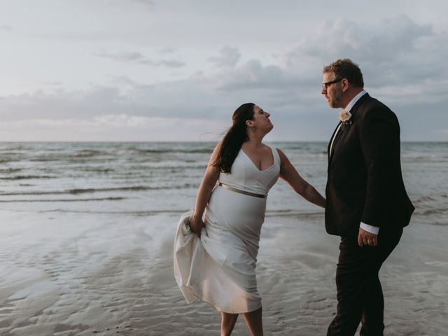 The wedding of Sarah and Dan