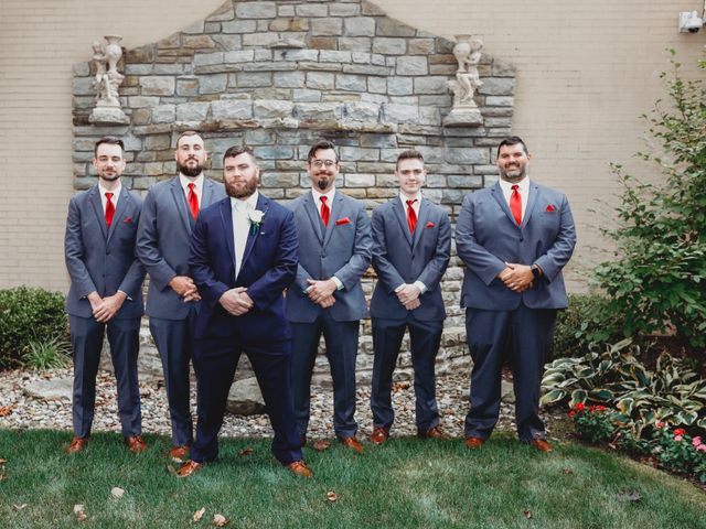 David and Christy's Wedding in Pittsburgh, Pennsylvania 17