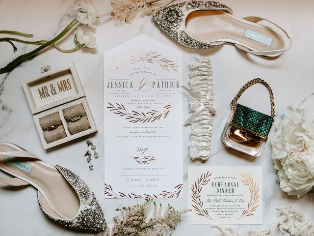 Jessica and Patrick's Wedding in Alpharetta, Georgia 1