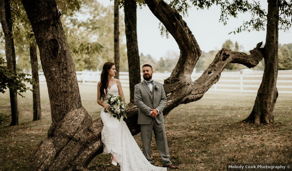 Kristopher and Rebecca's Wedding in Friendsville, Tennessee