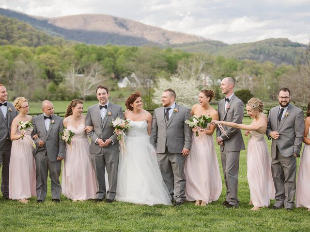 Liz and Zach's Wedding in Charlottesville, Virginia 17