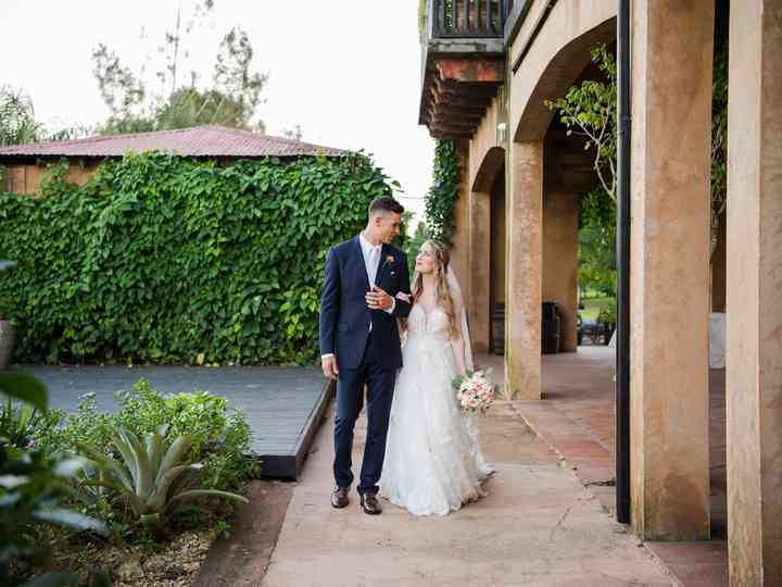 The wedding of Alyse and Carlos