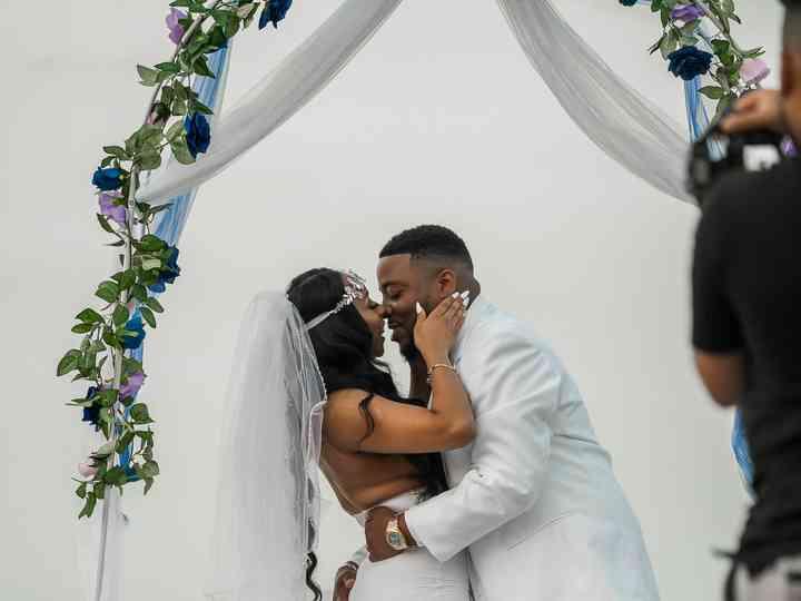 The wedding of Cierra and Lamar
