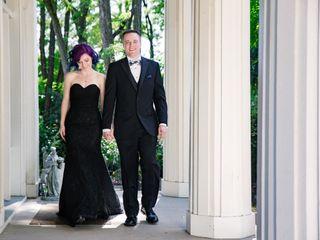 The wedding of Debira and Jon