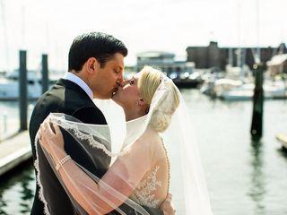 The wedding of Heather and Matt