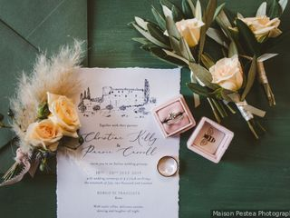 The wedding of Christine and Pauric 1