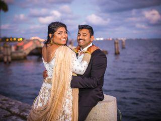 The wedding of Maanasa and Siva