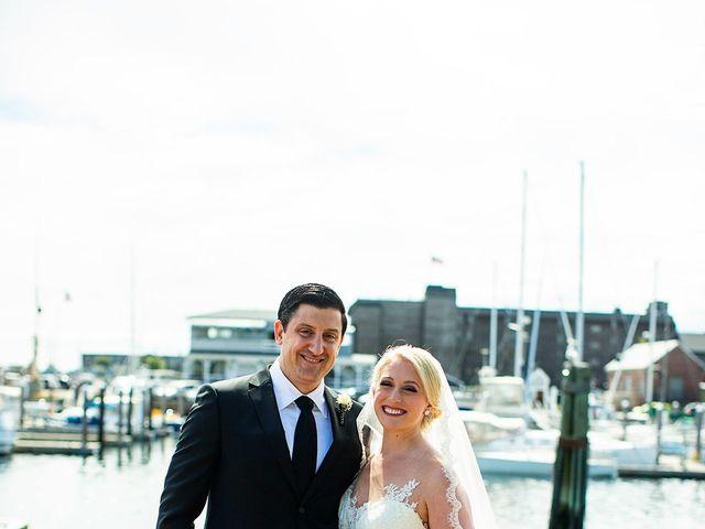 Matt and Heather's Wedding in Newport, Rhode Island 13