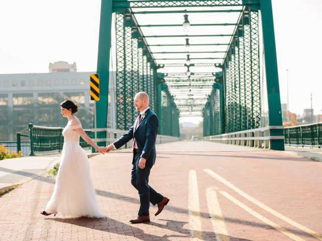 The wedding of Beth and Trevor