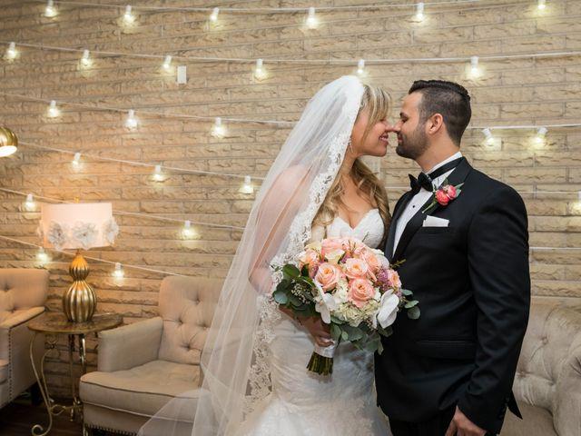 The wedding of Dineliz and Rodolfo