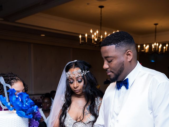 Lamar and Cierra's Wedding in Aberdeen Proving Ground, Maryland 3