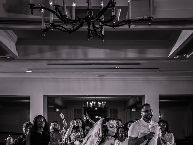 Lamar and Cierra's Wedding in Aberdeen Proving Ground, Maryland 4