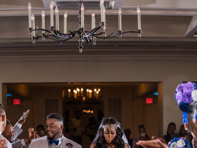 Lamar and Cierra's Wedding in Aberdeen Proving Ground, Maryland 6