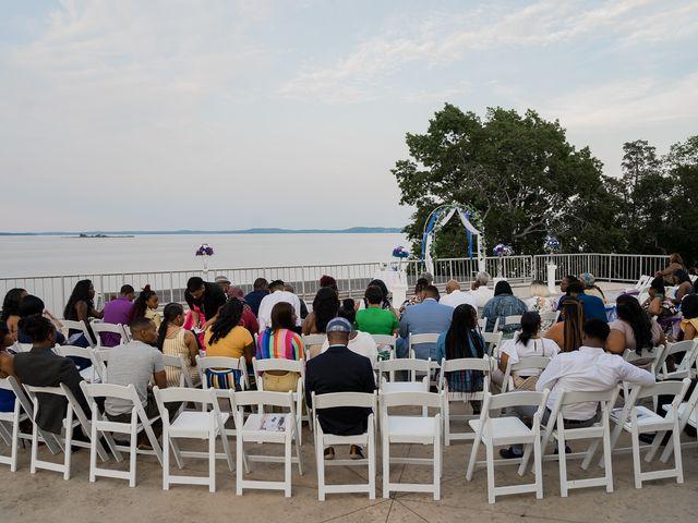 Lamar and Cierra's Wedding in Aberdeen Proving Ground, Maryland 8
