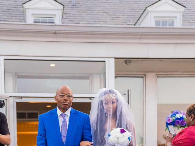 Lamar and Cierra's Wedding in Aberdeen Proving Ground, Maryland 10