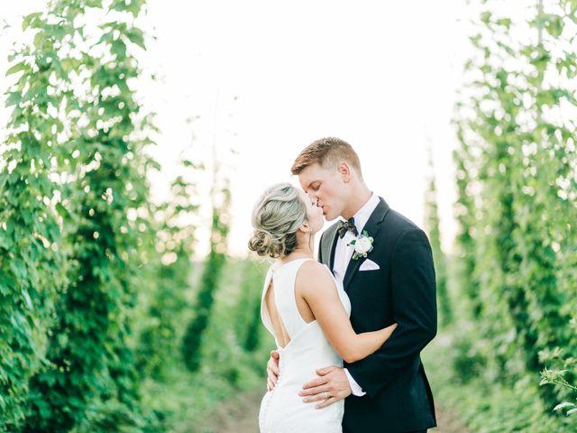 The wedding of Ben and Julia