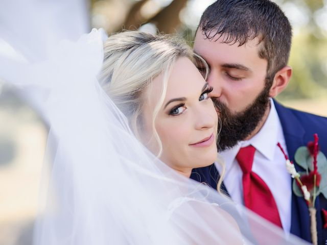 The wedding of Lacey and Matthew
