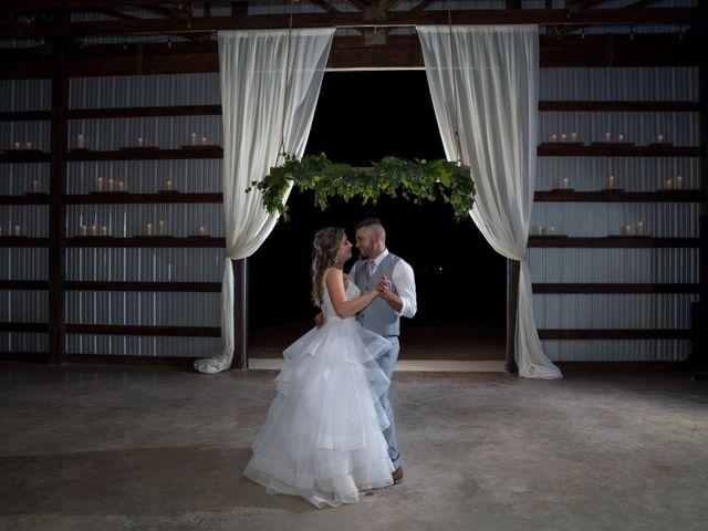 The wedding of Ashley and Daniel