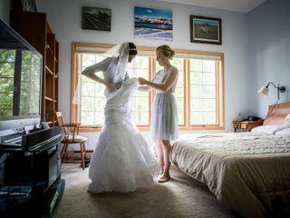 The wedding of Carolyn and Yaset 1